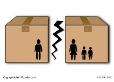 Umzug mit Kindern nach einer Trennung