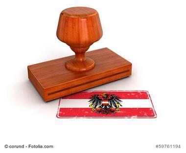 Österreich Behörden Stempel