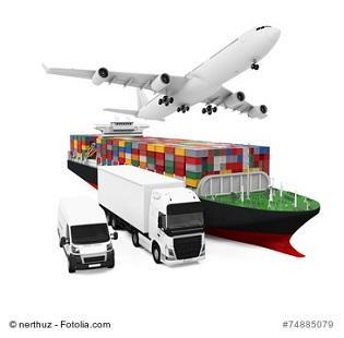 Zoll, Schiff, LKW, Flugzeug
