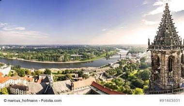Magdeburg Skyline