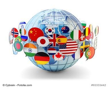 Auslandsziele, Weltkugel