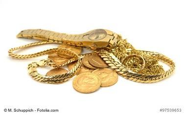 Wertgegenstände, Gold
