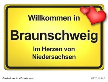 Braunschweig Ortsschild