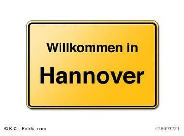 Hannover Willkommensschild