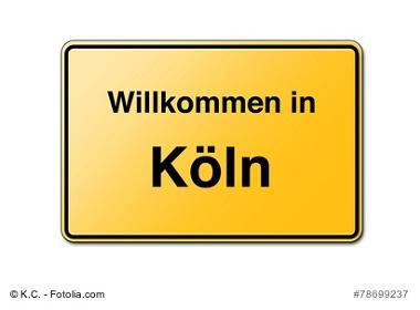 Köln Schild