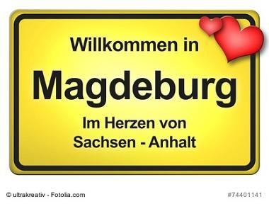 Magdeburg Ortsschild