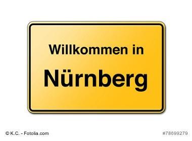 Nürnberg Ortsschild