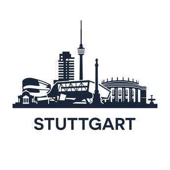 Skyline von Stuttgart