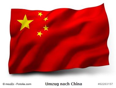 Umzug nach China