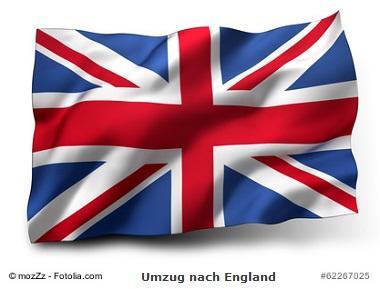 Umzug nach England