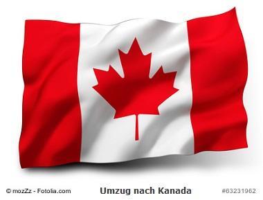 Umzug nach Kanada
