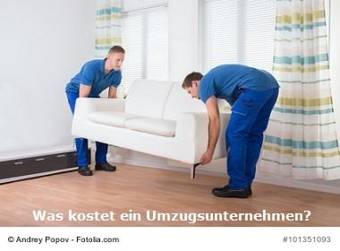 was kostet ein umzug umzugsunternehmen preise. Black Bedroom Furniture Sets. Home Design Ideas